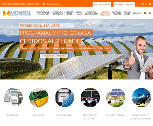 1-Web Monsol-Monitorizacion fotovoltaica